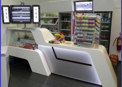 Нестандартное торговое оборудование для минимаркета