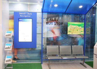 Презентация оборудования остановок для саммита Samsung