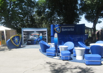 Промо-зона Bavaria для выездных мероприятий
