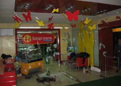 Презентационная зона Kaspi bank