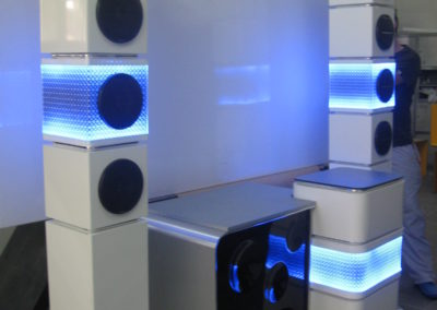 Музыкальный промо-стенд
