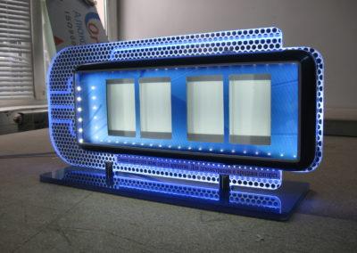 Настольный дисплей с подсветкой